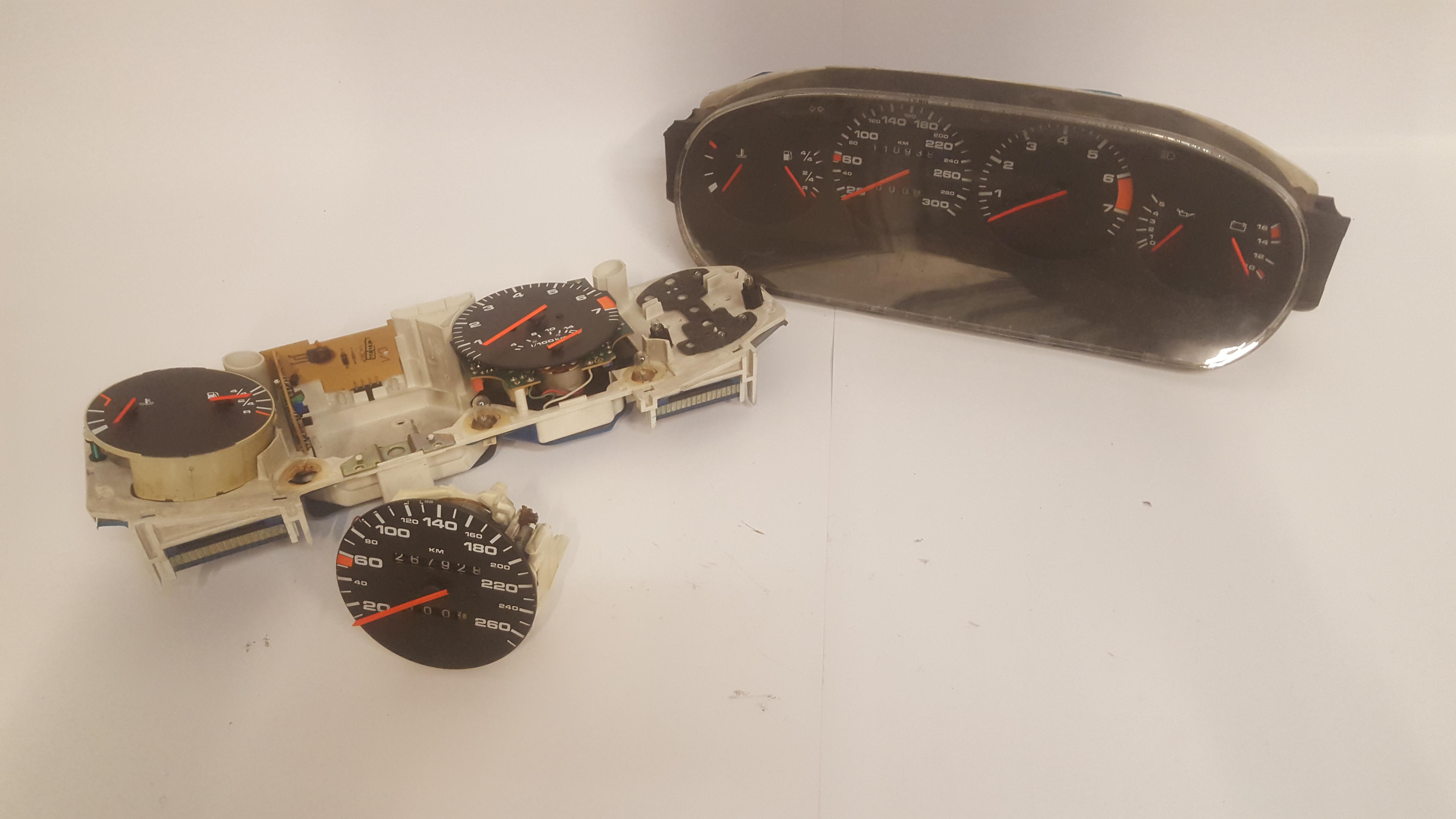 Reparatie km-teller